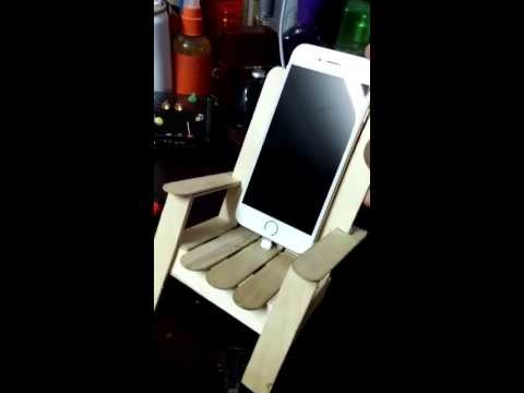 IPhone 6 Charging Dock DIY Homemade