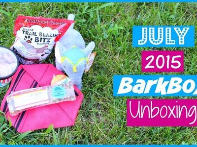 July BarkBox Unboxing (feat. Abby) | Alexa's DIY Life