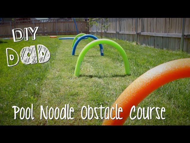 KIDS OBSTACLE COURSE! | DIY Dad: epoddle