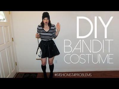 Last Minute DIY Bandit Costume