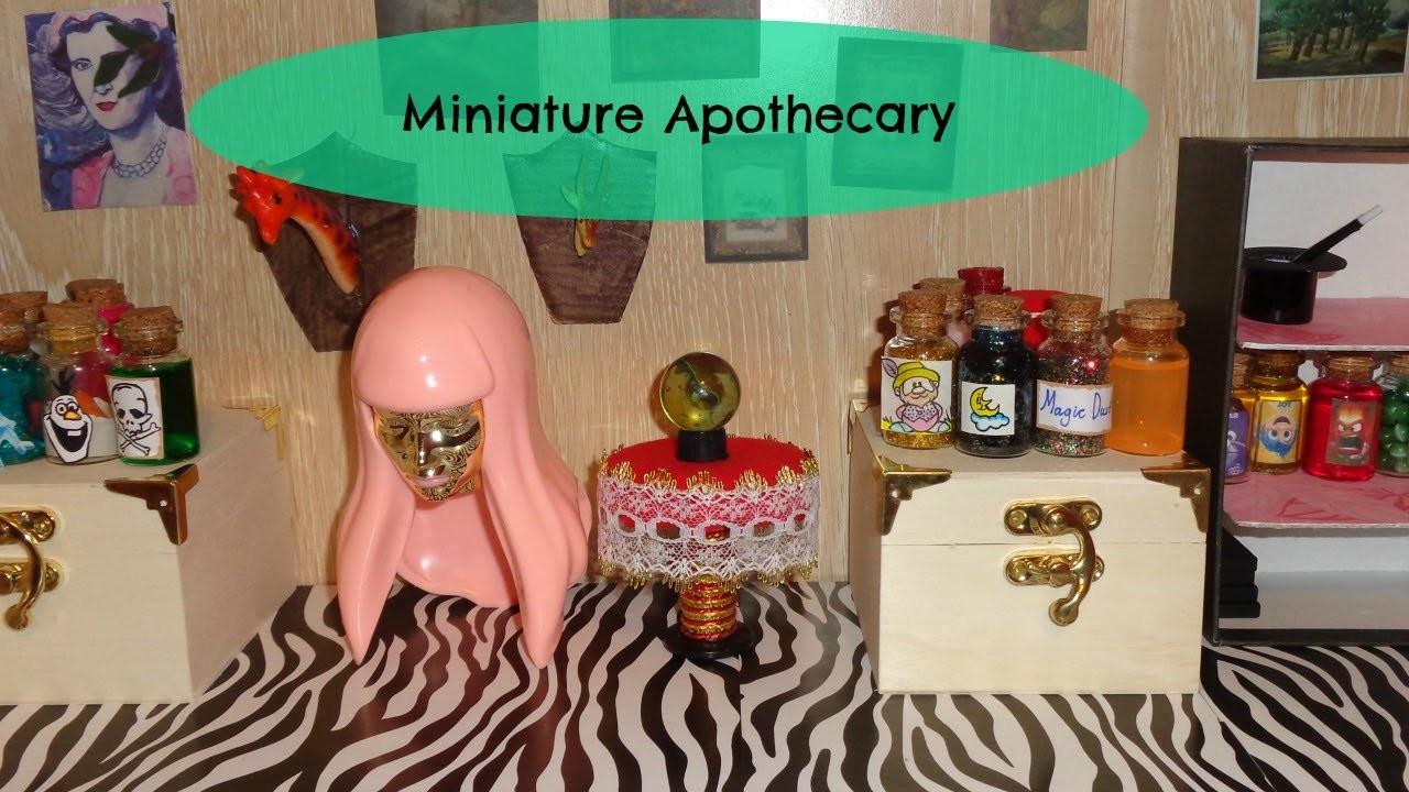 Miniature Potions Room Tour - DIY LPS Crafts & Doll Stuff