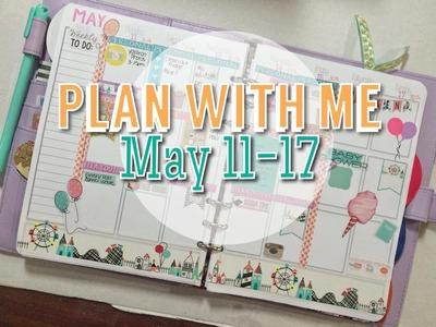 Plan With Me: Week May 11-17th DIY Erin Condren pl