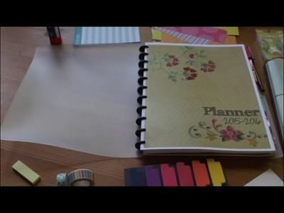 Planner tag- my DIY arc teacher, home, blog, and TPT planner!