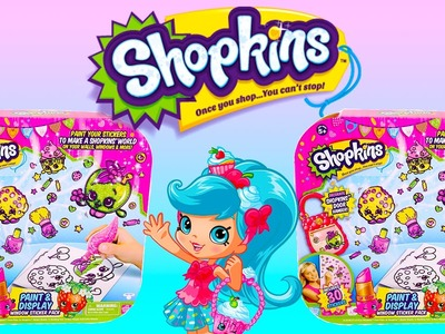 SHOPKINS Stickers Geleez Craft Set DIY Shopkins Stickers by Moose Toys