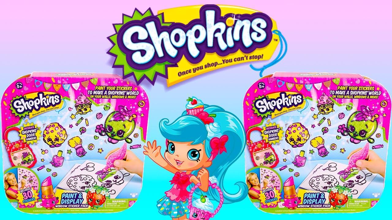 SHOPKINS Stickers Geleez Craft Set DIY Shopkins Stickers by Moose Toys