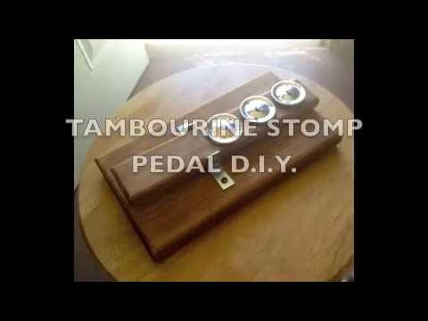 TAMBOURINE STOMP PEDAL D.I.Y.