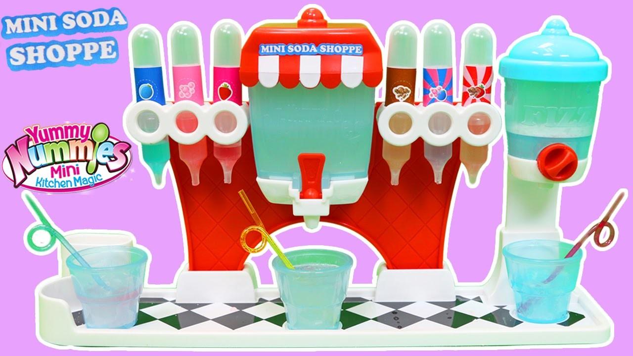 Yummy Nummies Mini Kitchen Magic Soda Shoppe Maker Playset Easy DIY Make Your Own Soda Pop!