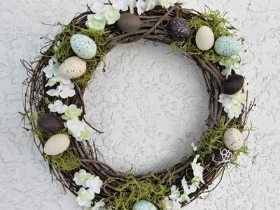 12 Adorable DIY Spring Easter Wreaths | GH