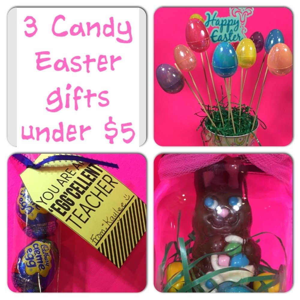 3 DIY Easter Candy Gifts for under $5