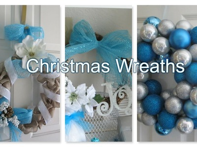 3 Easy DIY Christmas Wreaths 2014 - AlyssaFaye