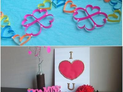 3 Easy DIY Decoration Ideas For Valentine's Day-Valentine Week