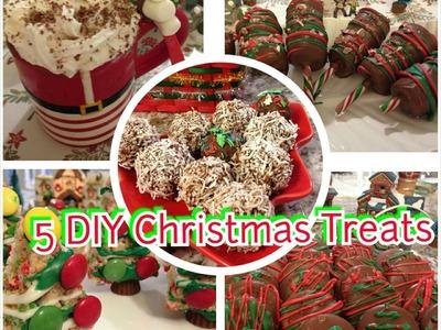 5 DIY Christmas and Holiday Treats