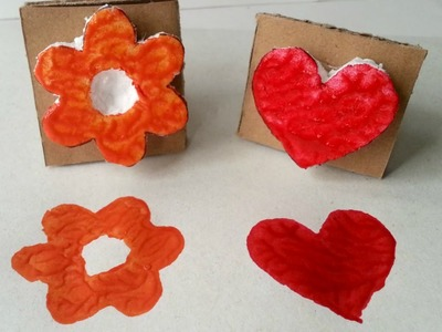 Create Fun Styrofoam Stamps - DIY Crafts - Guidecentral