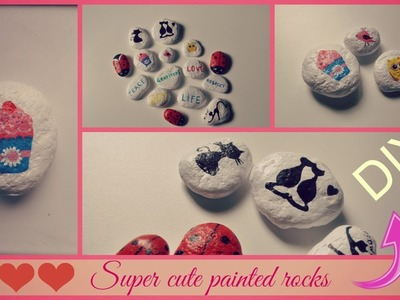 Cute and easy DIY: Painting on rocks