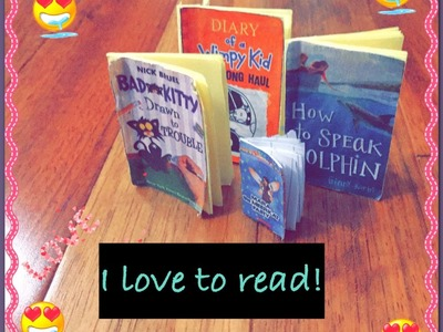 DIY #1How To Make Beanie Boo Books!