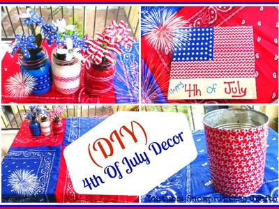 (DIY) 4th Of July Decor