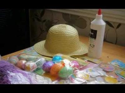 DIY Boys easter hat decorating ideas
