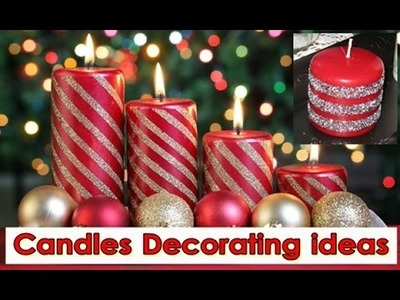 DIY Candles Decorating ideas, Colorful Candle Decor Tips