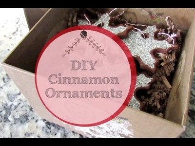 DIY Cinnamon Ornaments • Christmas Gift Collab with Annie's Simple Life