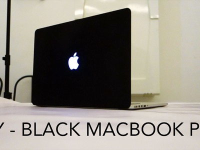 DIY Custom Matt Black Macbook Pro with Plasti Dip