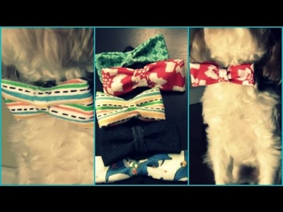(DIY) Dog Bow Ties!