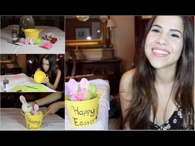 DIY Easter Gift Basket!
