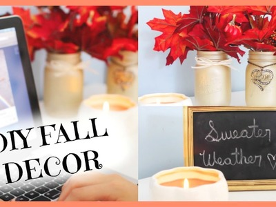 DIY Fall Room Decor | Spice Up Your Space!