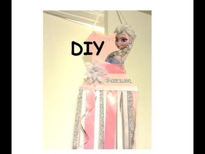 {DIY} Frozen bow holder