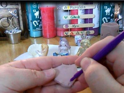 DIY Goddess Statue, How To Make Goddess Statues