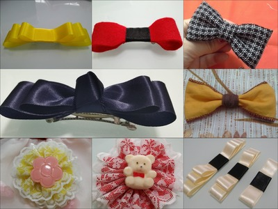 DIY Hair Bow Video #2 ( 8 style)