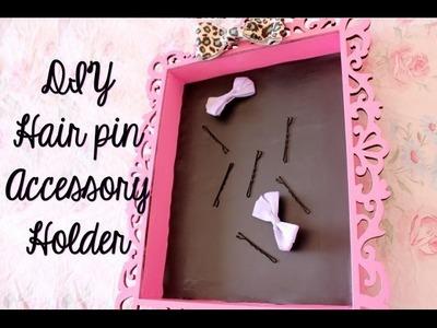 DIY Hair Pin Accessory Holder