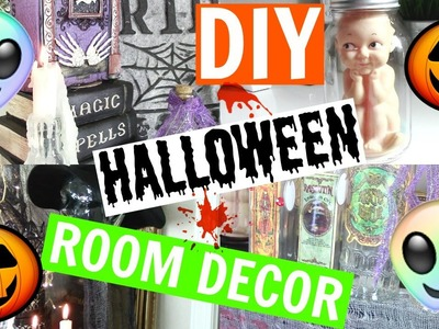 DIY HALLOWEEN ROOM DECOR ON A BUDGET | CHANNON ROSE