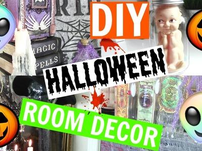 DIY HALLOWEEN ROOM DECOR ON A BUDGET | CHANNON ROSE