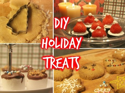 DIY Holiday Party Snacks And Christmas Treats