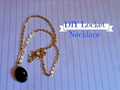 DIY Locket Necklace!