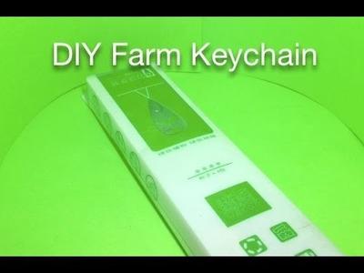 DIY Mini Farm Keychain