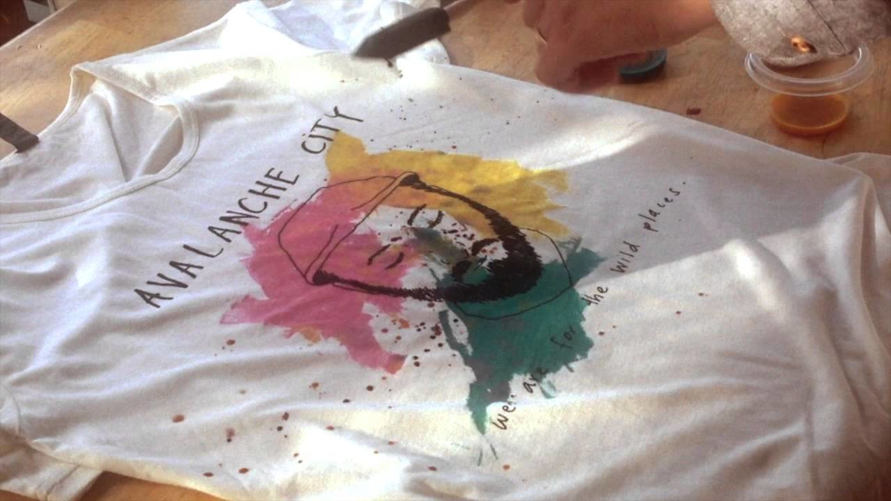 DIY Painting Guide for Avalanche City T-Shirt