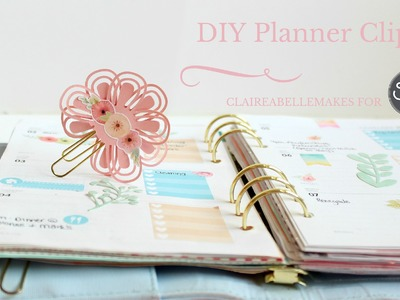 DIY Planner Clips | Sizzix Big Shot Plus DIY | Kikki K Planner