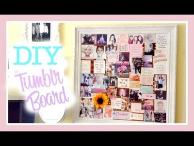 DIY Room Decor | Tumblr Pin Board