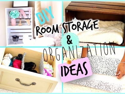 DIY Room Organization and Storage Ideas + BLOOPERS 2015 | Nikki G