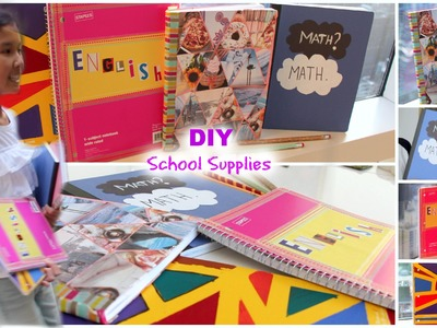 DIY School Supplies Ideas: Back To School 2015