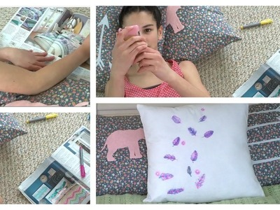Diy Throw Pillows ~ Colorful and Cute Pillows!