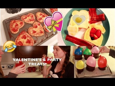 DIY VALENTINE'S DAY and PARTY TREATS