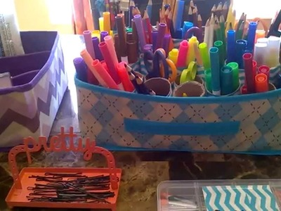 Dollar Tree DIY Organization Ideas!!2.2.15