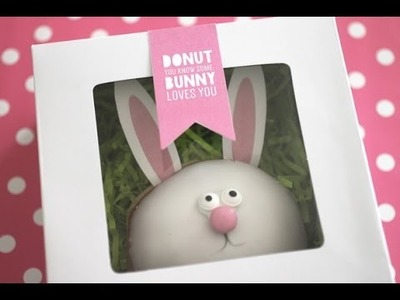 Easter DIY Donut Bunny