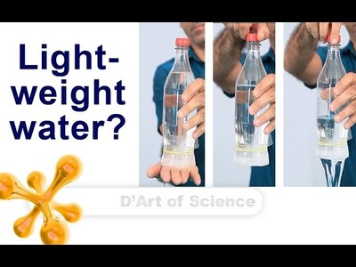 How To hold water in an upside down glass - Cool DIY Science Experiment- vacuum - dartofscience