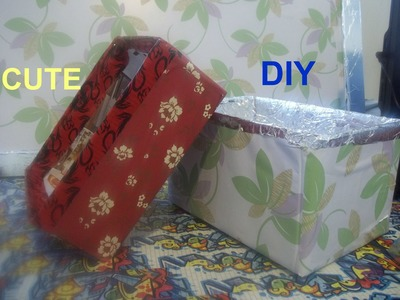 How to make a Cute Storage Box,  Beautiful Shelf Box Easy DIY Craft