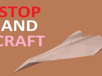 How to make a Paper Origami Black Bird SR71 Spy Plane
