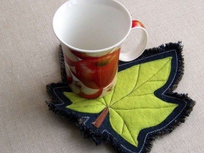 How To Make An Autumn Leaf Coaster - DIY Crafts Tutorial - Guidecentral