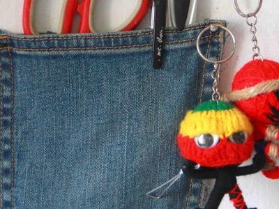 Make a Cool Jean Pocket Pen Holder - DIY Home - Guidecentral